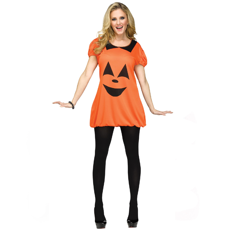 pumpkin romper adult halloween costume