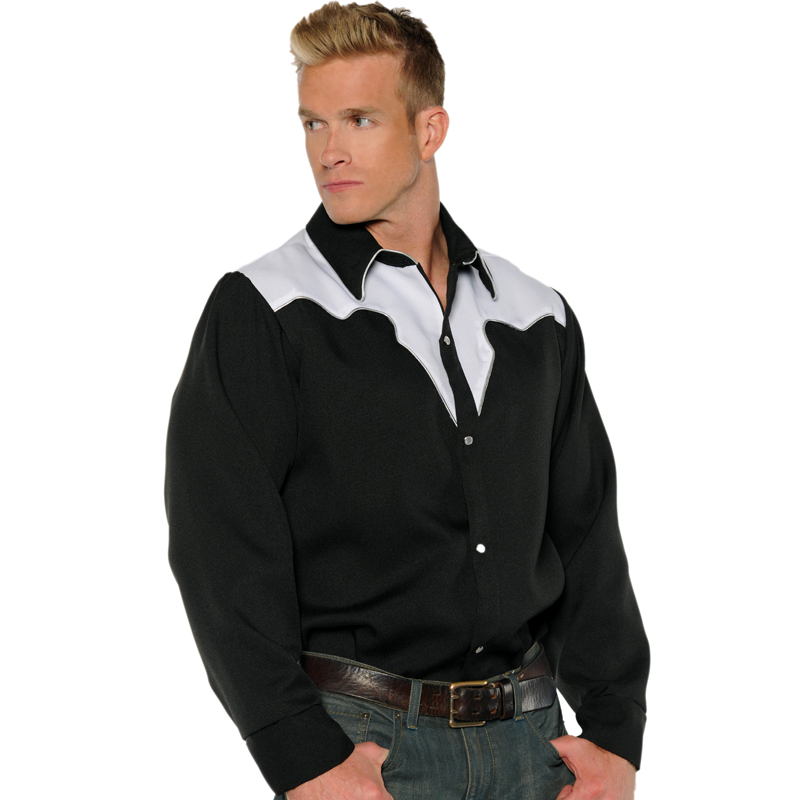 Cowboy Shirt Adult Halloween Costume