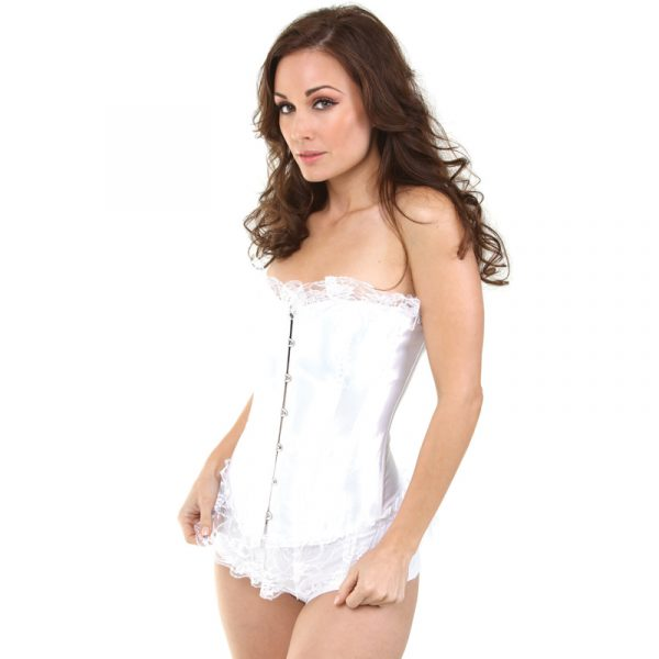 Bustier With Lace Adult Halloween Costume