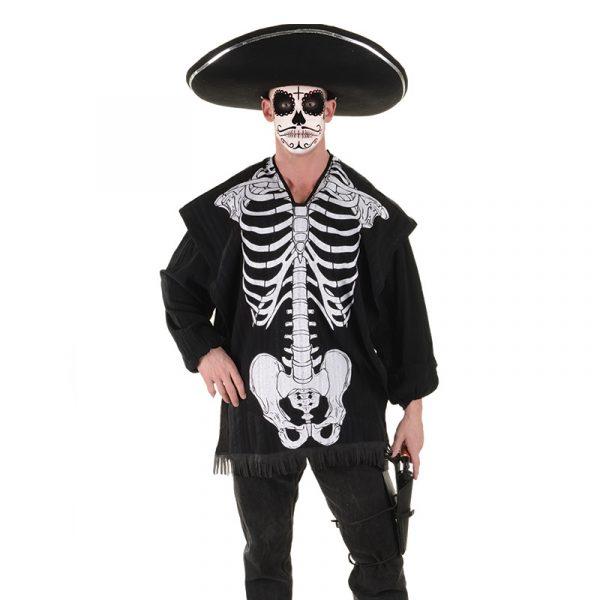 Skeleton Serape Adult Halloween Costume