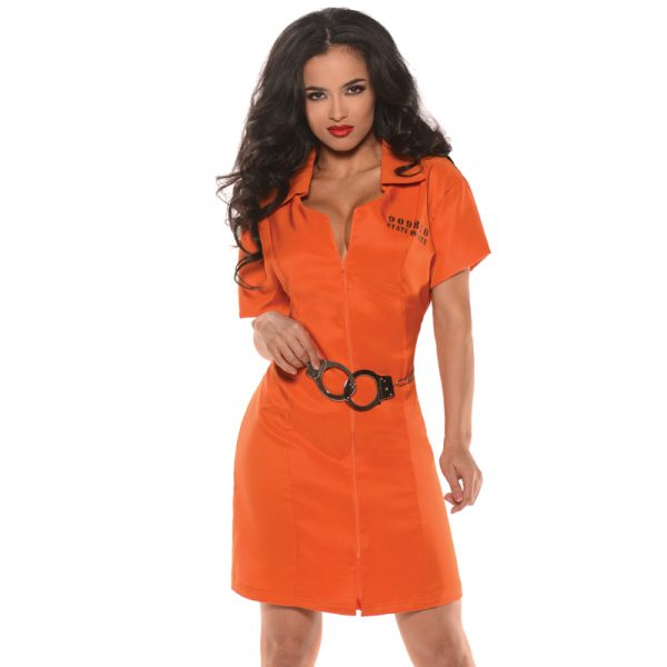 Convict Locked Up Adult Halloween Costume