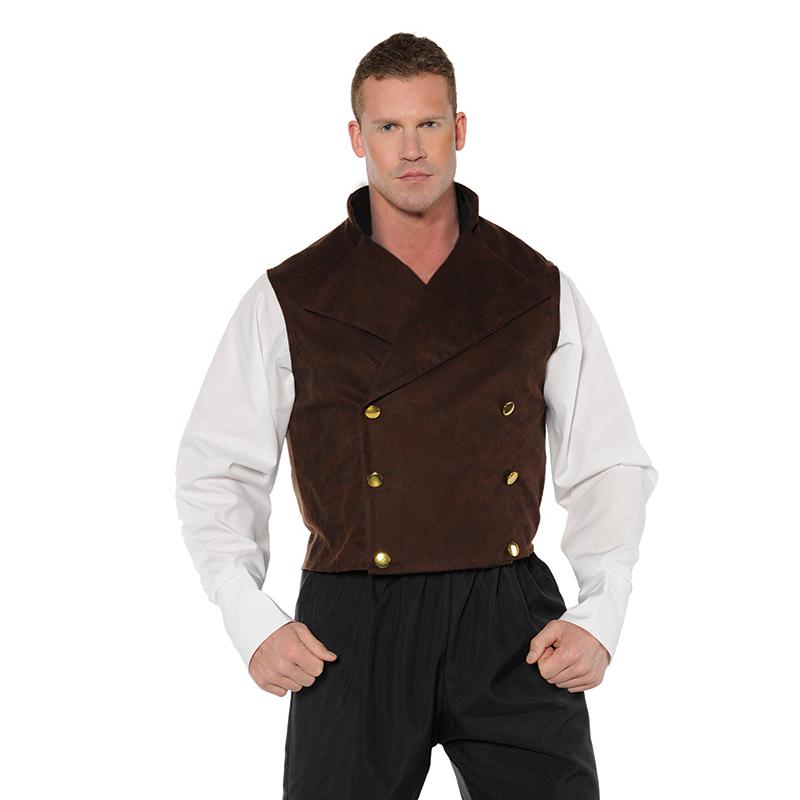 Steampunk Vest Adult Halloween Costume