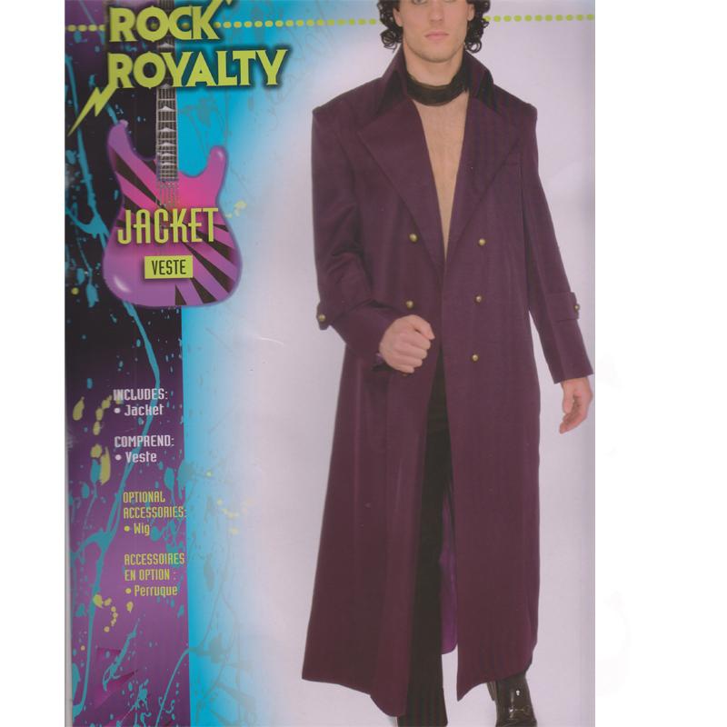 Rock Royalty Jacket Adult Halloween Costume