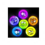 """2"""" Party Light-Up Rubber Zombie Balls Halloween Novelty"""