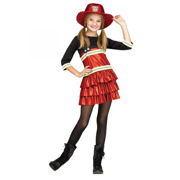 Firefighter Chief Cutie Halloween Child's Costume