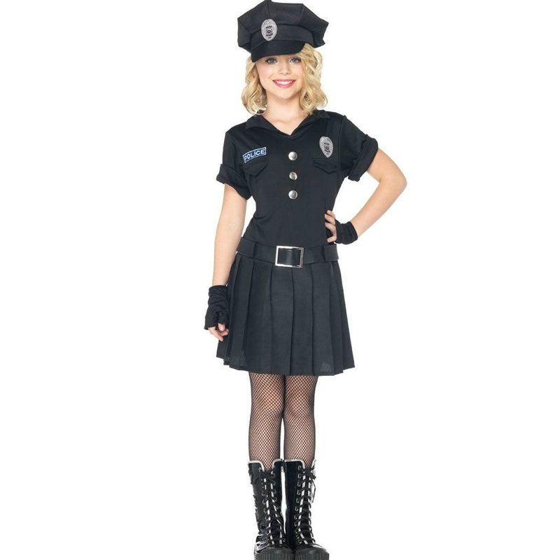 playtime police childs halloween costume