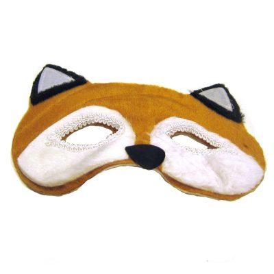 Plush Animal Half Mask