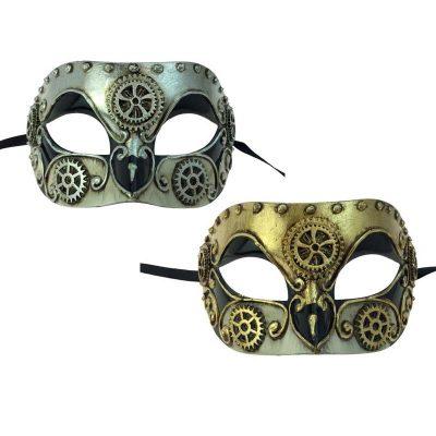 Steampunk Venetian Half Mask