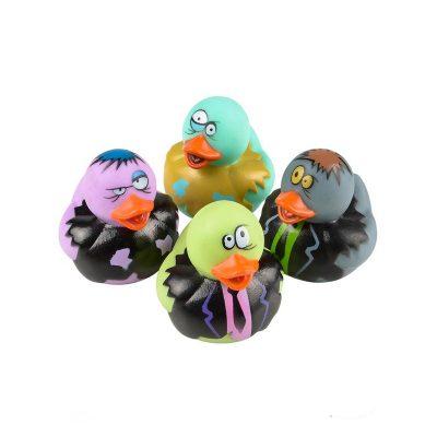 2 Inch Rubber Ducks Zombie Halloween Novelty