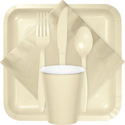 Ivory tableware