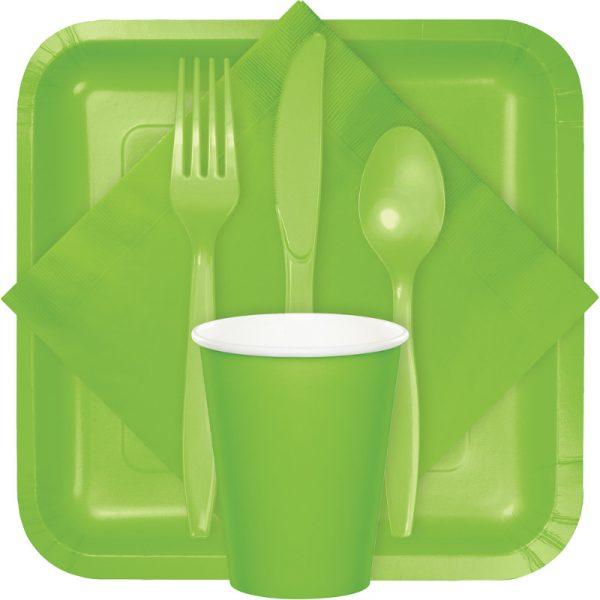 fresh lime tableware