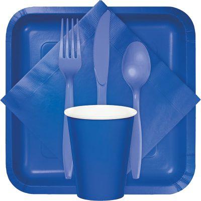 cobalt blue tableware