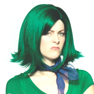 Disgust Green Wig
