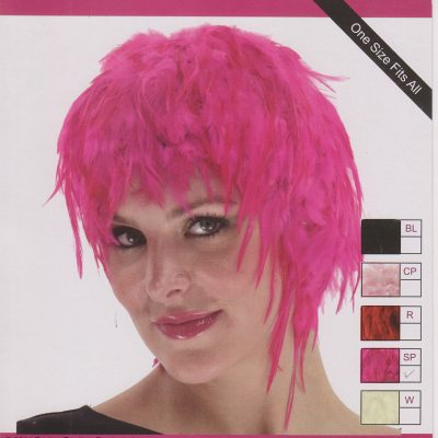 Feather Wigs Adult Halloween Costume