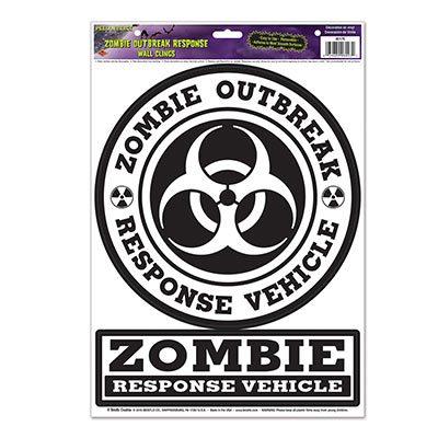Zombie Outbreak Response Peel N' Place