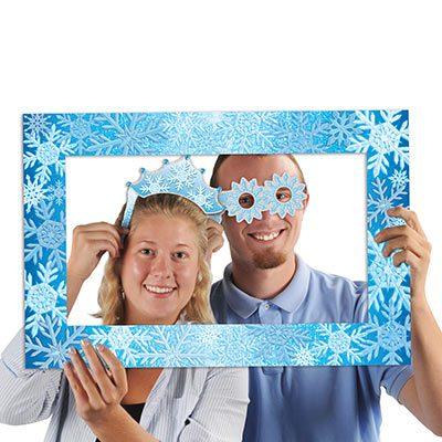 Snowflakes Photo Fun Frame