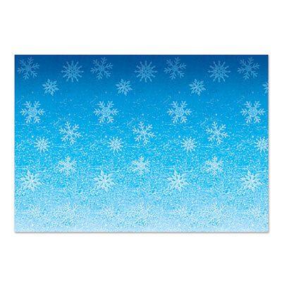 Snowflakes Backdrop Holiday Decoration