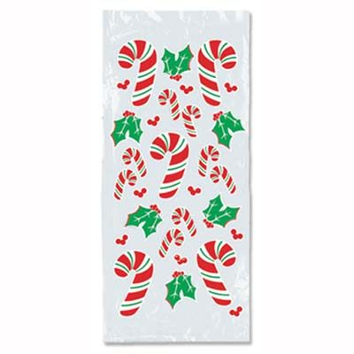 Candy Cane and Holly Cello Bags