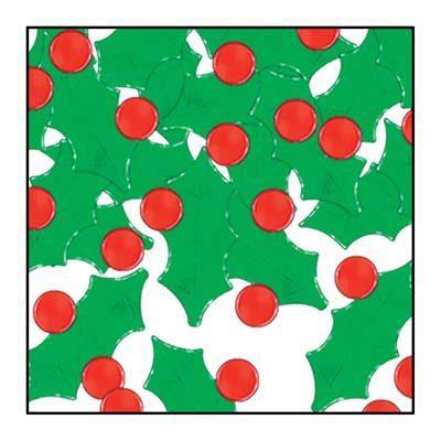 Fanci-Fetti Holly and Berry Confetti