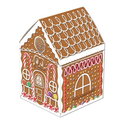 Gingerbread House Centerpiece Holiday Decoration