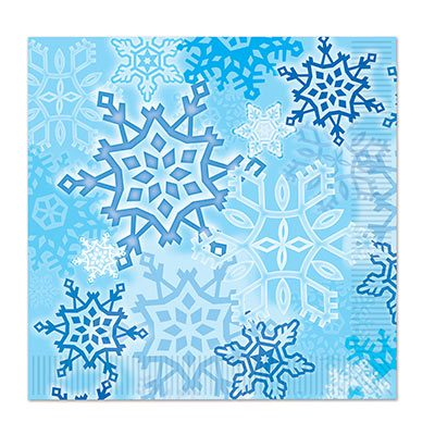 Snowflake Luncheon Napkins Party Supply
