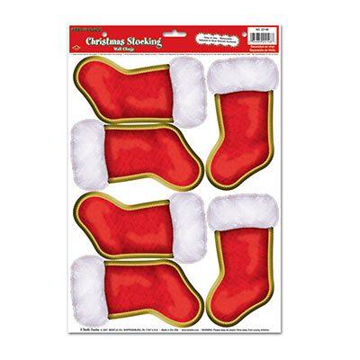 Christmas Stockings Peel N' Place
