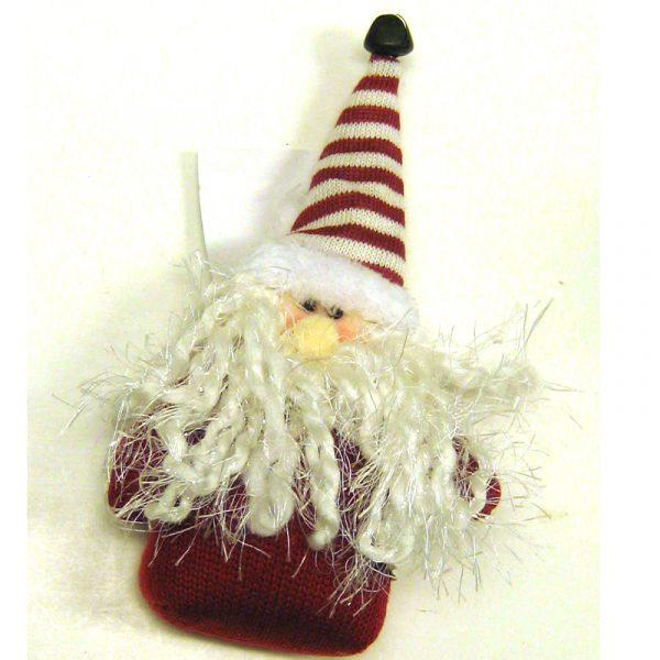 Woven Fabric Santa Ornatment