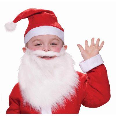 Child Santa Beard & Mustache