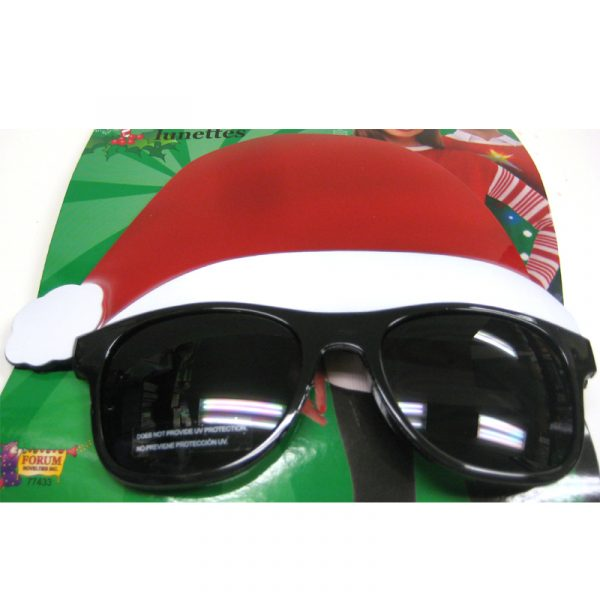 Santa Hat Dark Lens Sunglasses