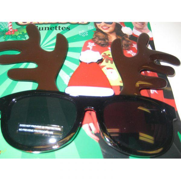 Reindeer Antlers Dark Lens Sunglasses