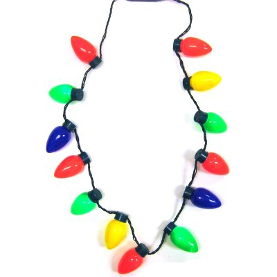 C-7 Bulb Christmas Light Necklace