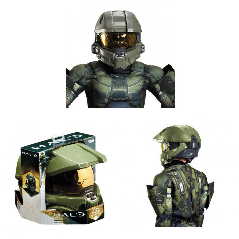 Costume Plastic Master Chief Child Full Helmet  sc 1 st  Cappelu0027s & Childrenu0027s TV Cartoon Celebrity Movie u0026 Storybook Characters ...