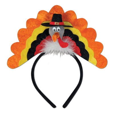 Turkey Headband Thanksgiving Party Supply