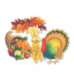 Packaged Thanksgiving Cutouts Thanksgiving Decoration
