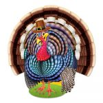 Jointed Turkey Thanksgiving Decoration