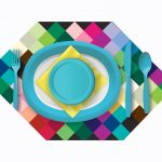 Bold and Colorful Tableware
