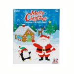 Christmas Coloring Activity Book 32 Pages of Fun!