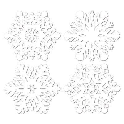 Snowflake Cutouts Christmas Holiday Decorations