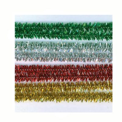 12 Inch Tinsel Stems (60 pieces per package)