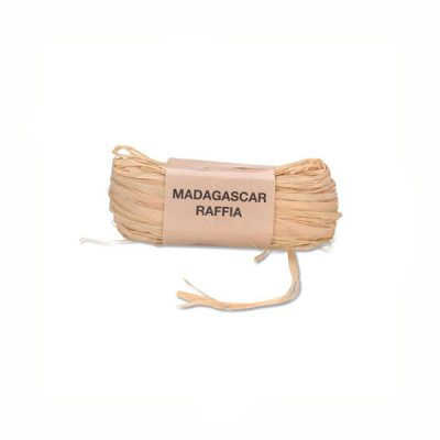 1 Ounce Natural Raffia for Bows, Wreaths, Angels, Scarecrows and much more!