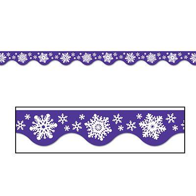 Winter Border Trim Holiday Decorations