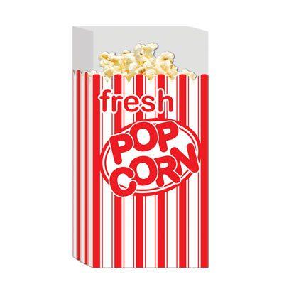 Pop Corn Bags Awards Night Accessory