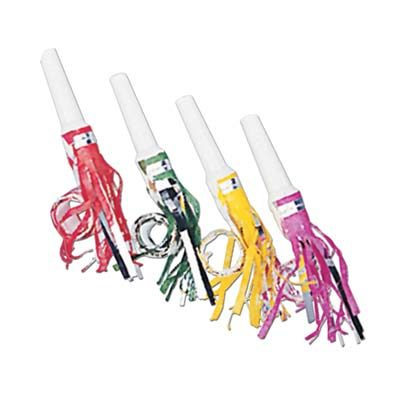 Fringed Party Blowouts