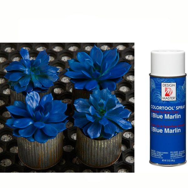 Blue Marlin Design Master Spray Paint