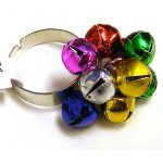 Mini Metal Christmas Jingle Bell Ring