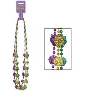 Mardi Gras Mask Beads