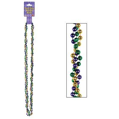 Mardi Gras Braided Beads