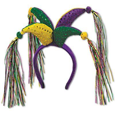 Mardi Gras Jester Headband