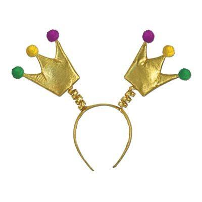 Mardi Gras Crown Boppers