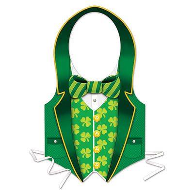 Plastic St. Patrick Vest